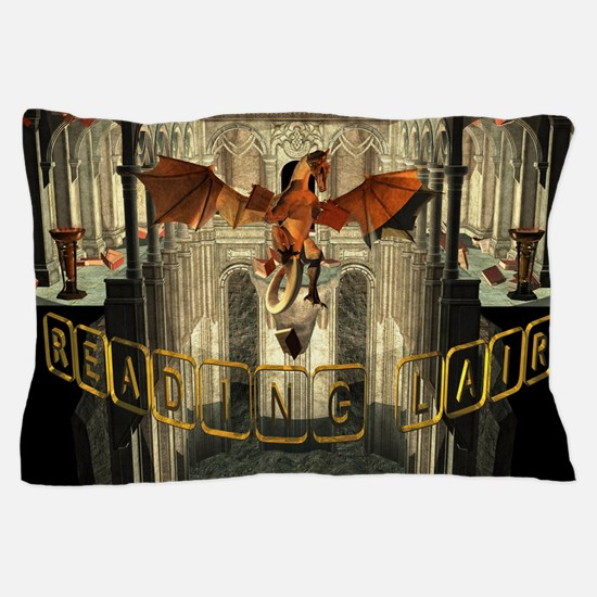 reading Lair Pillow Case