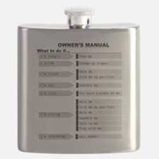 Baby Owner's Manual Flask