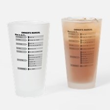 Baby Owners Manual Drinking Glass