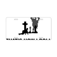 Ghosthunting-12-A Aluminum License Plate