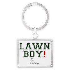 LAWN BOY! Z Landscape Keychain