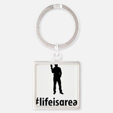 Peace-06-A Square Keychain