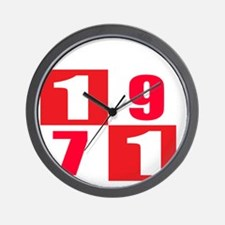 Established 1971 Designs Wall Clock
