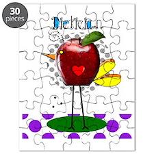 Dietician Apple Purple Puzzle