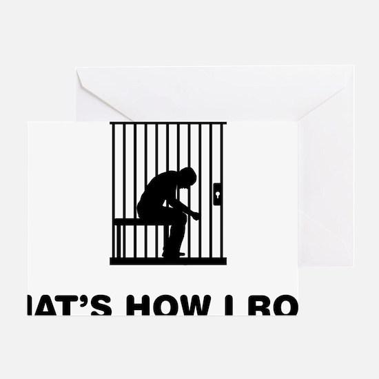 Prisoner-12-A Greeting Card