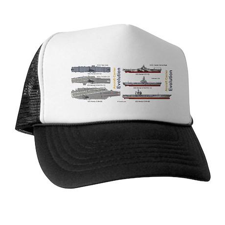 USS Nimitz CVN 68 USS Hornet CV-12 CVA Trucker Hat