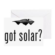 Solar-Powered-Car-02-A Greeting Card