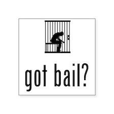 """Prisoner-02-A Square Sticker 3"""" x 3"""""""