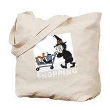 witch shopping Tote Bag