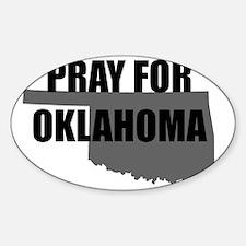 Pray For Oklahoma Decal