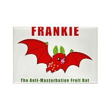 Frankie The Anti-Masturbation Fru Rectangle Magnet