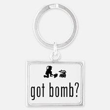 Bomb-Technician-02-A Landscape Keychain