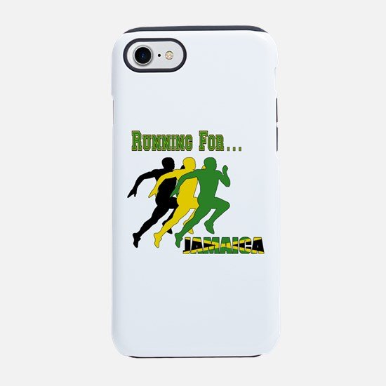 Running Jamaica iPhone 7 Tough Case