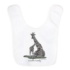 Mother And Baby Giraffe Bib