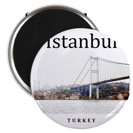 Istanbul_10x10_BosphorusBridge Magnet