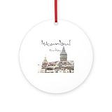 Istanbul turkey Ornaments