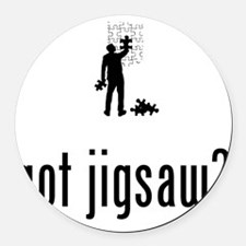 Jigsaw-Puzzle-02-A Round Car Magnet