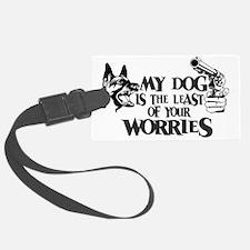 WorriesDog Luggage Tag
