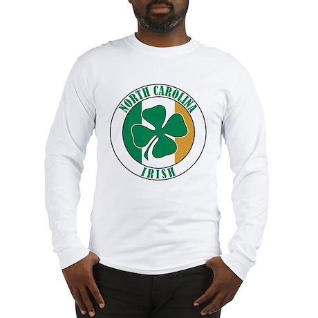 North Carolina Irish Long Sleeve T-Shirt