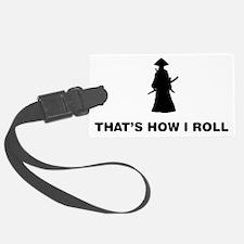 Samurai-12-A Luggage Tag