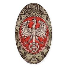Polish Eagle 1917 1/2 Mark  Stickers