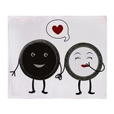 Cookie Love Throw Blanket