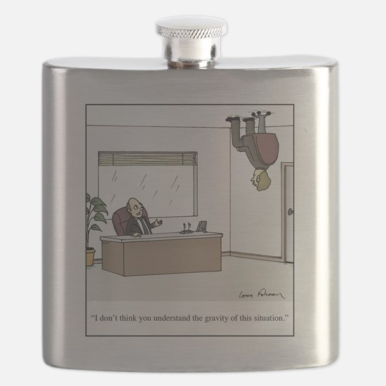 gravity of situation Flask