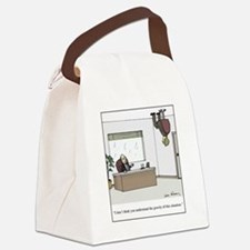gravity of situation Canvas Lunch Bag