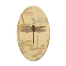 Dragonfly Vintage Wall Decal