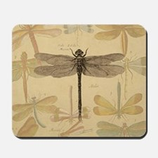 Dragonfly Vintage Mousepad
