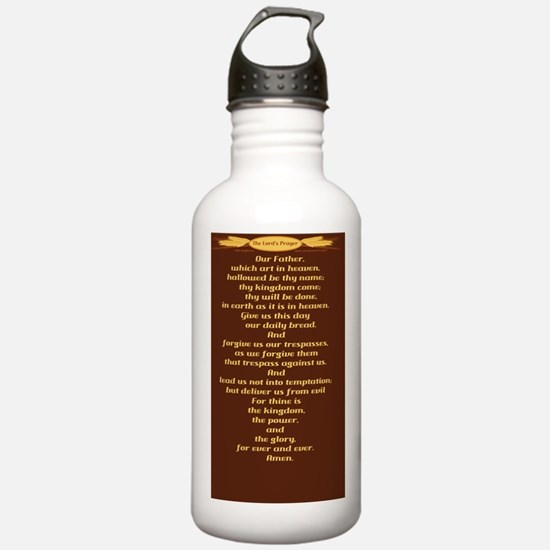 The Lords Prayer Wheat Water Bottle