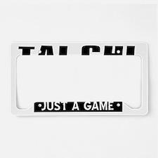 Tai Chi Designs License Plate Holder