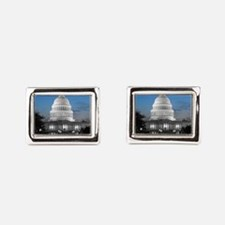 Capitol Hill Blue Cufflinks