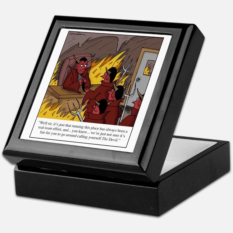 The Devil Keepsake Box