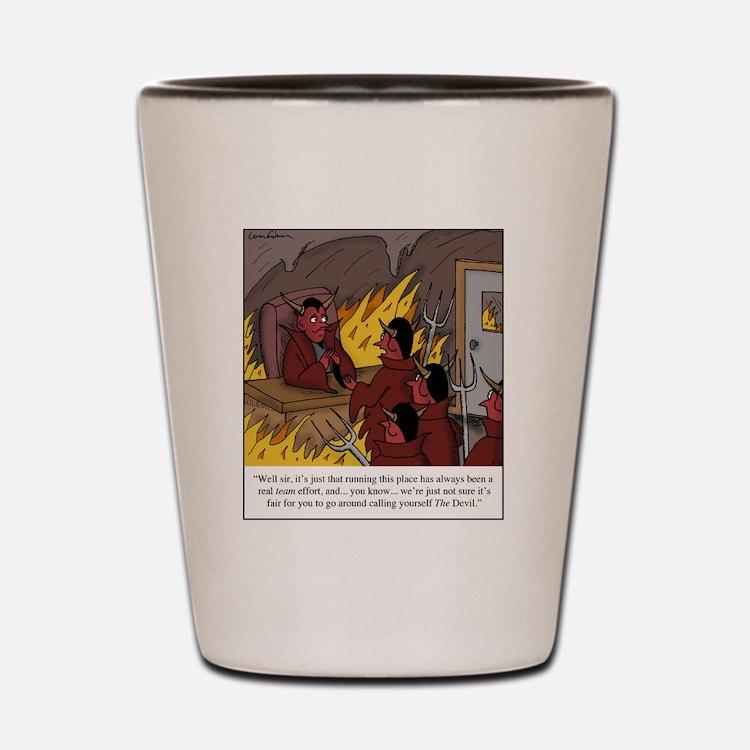 The Devil Shot Glass