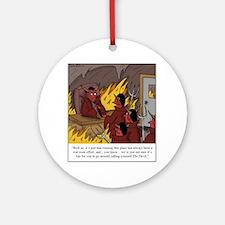 The Devil Round Ornament