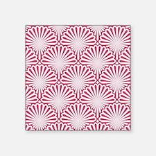 "Shells pattern Square Sticker 3"" x 3"""