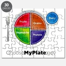 Choose My Plate Puzzle