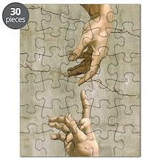 Michelangelo Creation of Adam Puzzle