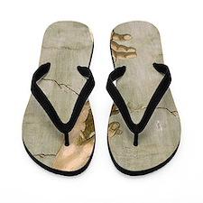 Michelangelo Creation of Adam Flip Flops