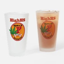 Higher than High sckool Reunion Drinking Glass