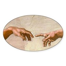 Michelangelo Creation of Adam Decal