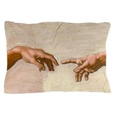 Michelangelo Creation of Adam Pillow Case