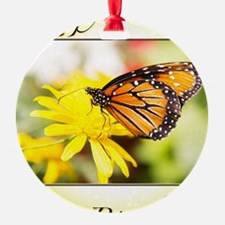 Happy Birthday Monarch Butterfly An Ornament
