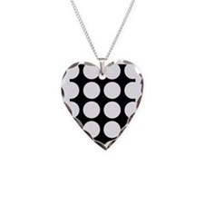 White dots Necklace