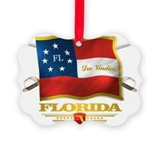 Florida -Deo Vindice Ornament