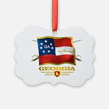 Georgia -Deo Vindice Ornament