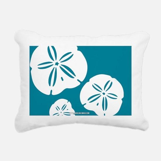 Sanddollar Large Rectangular Canvas Pillow