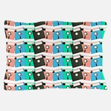 Vintage Floppy Discs Pillow Case