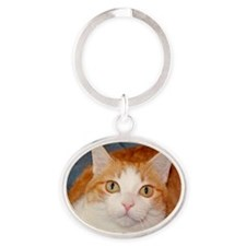 Abner Oval Keychain